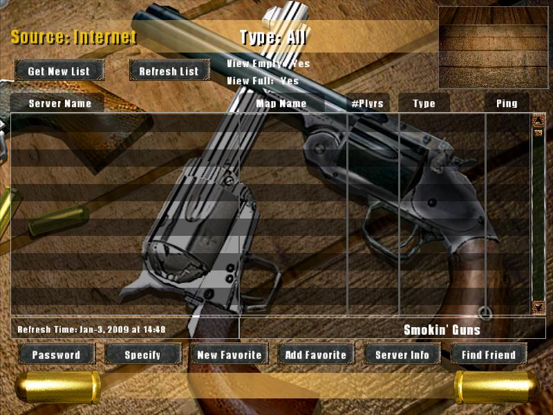 Smokin' Guns UI Screenshot #2