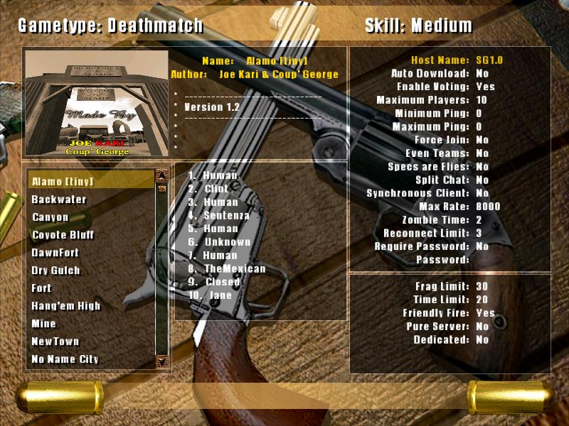Smokin' Guns UI Screenshot #4